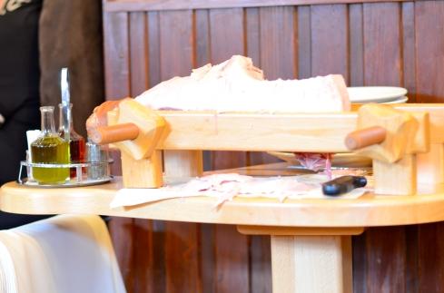 Ham Carving