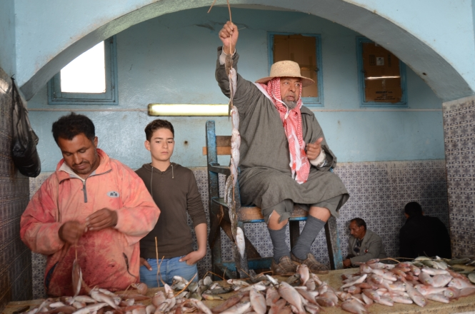 The Fish Auctioneer