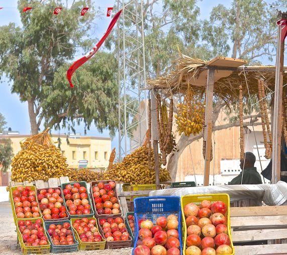 Pomegranates and Dates